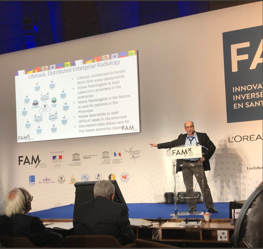 Dr. Eric Schulze on solving medical deserts in emerging markets at the FAMxParis